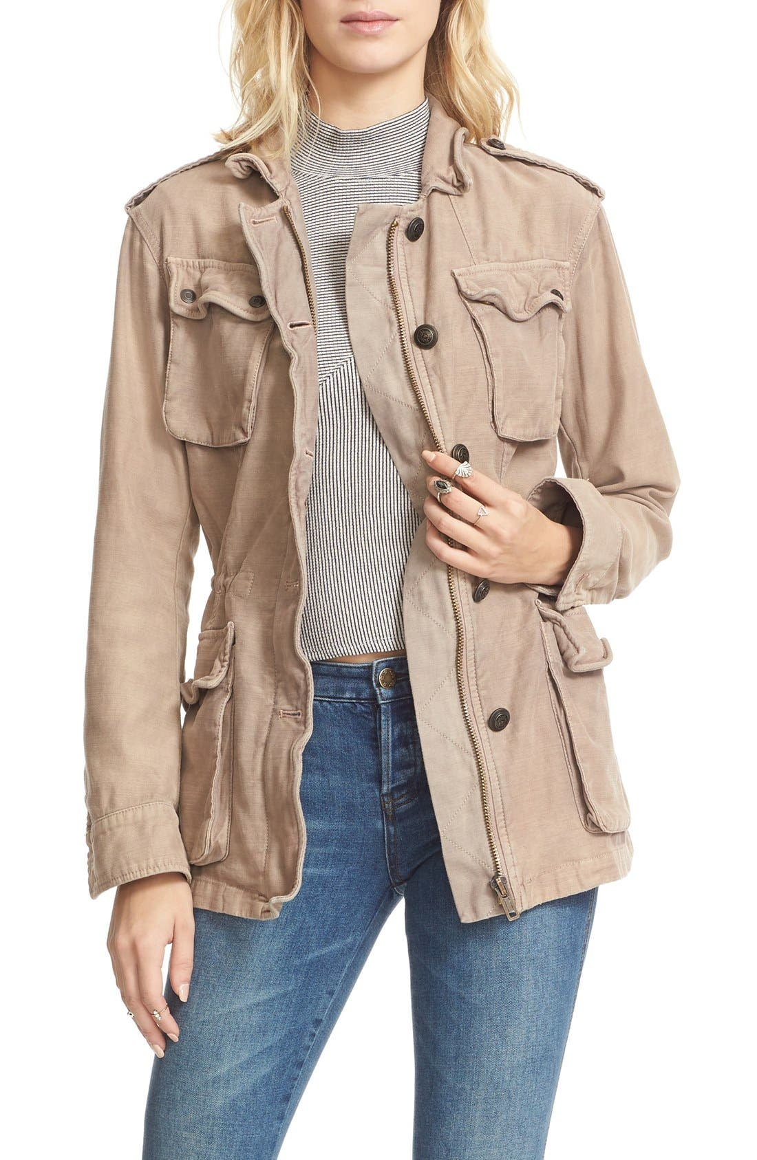 ,                             'Not Your Brother's' Utility Jacket,                             Main thumbnail 25, color,                             655