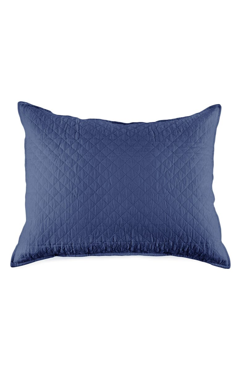 POM POM AT HOME Big Hampton Accent Pillow, Main, color, NAVY