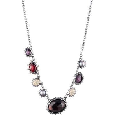 Alexis Bittar Crystal Frontal Necklace
