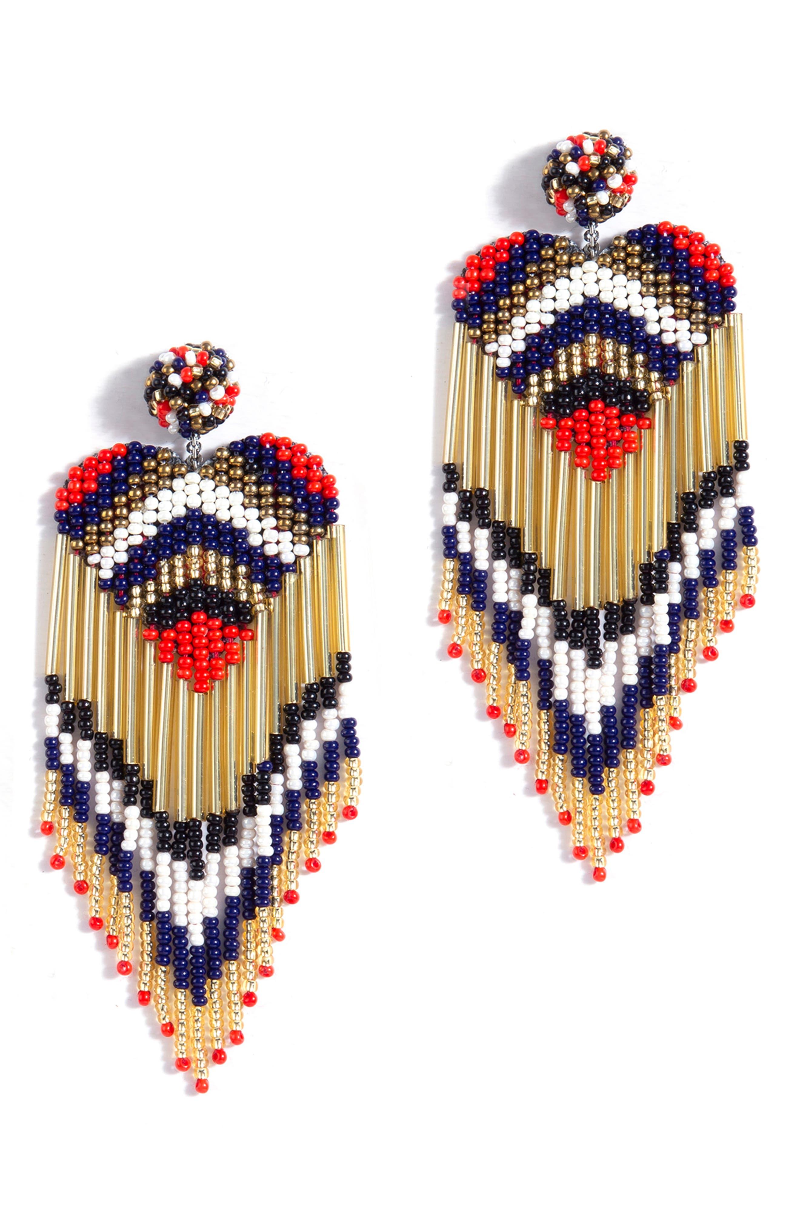 Lovie Heart Drop Earrings
