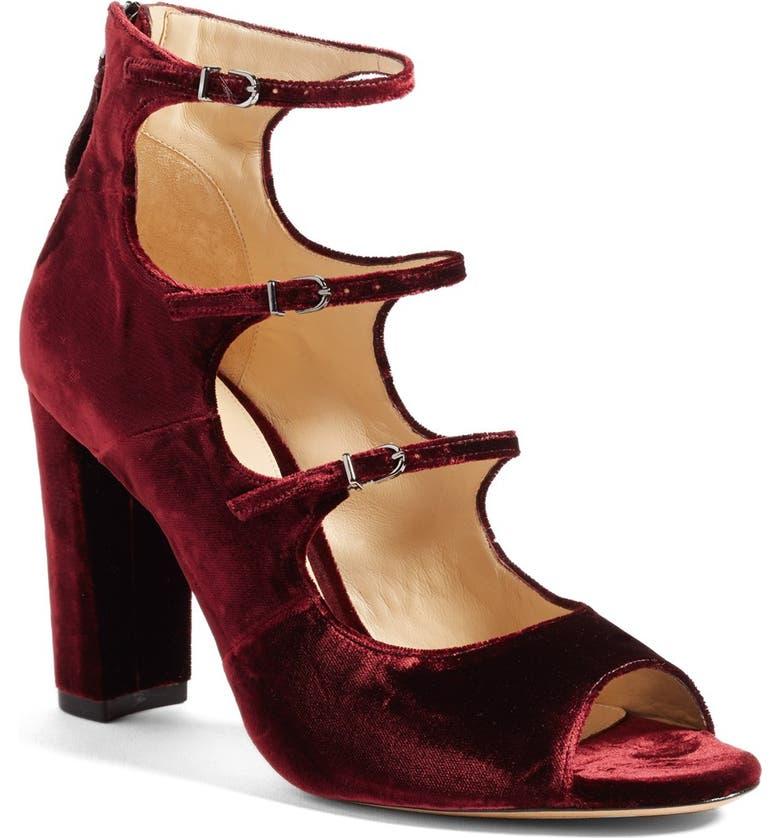 ALEXANDRE BIRMAN 'Kylie' Strappy Peep Toe Sandal, Main, color, 930
