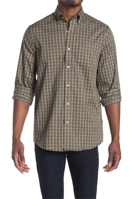 Image of Southern Tide Loggerhead Plaid Sport Shirt