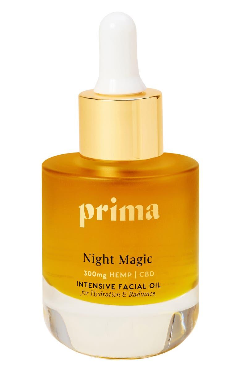 Prima Night Magic Intensive Facial Oil with CBD   Nordstrom