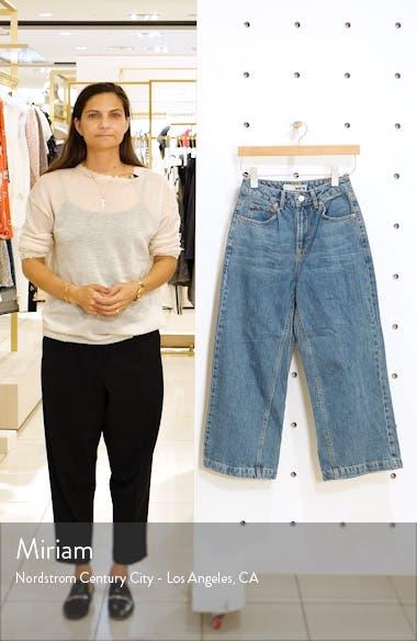 High Waist Wide Leg Jeans, sales video thumbnail