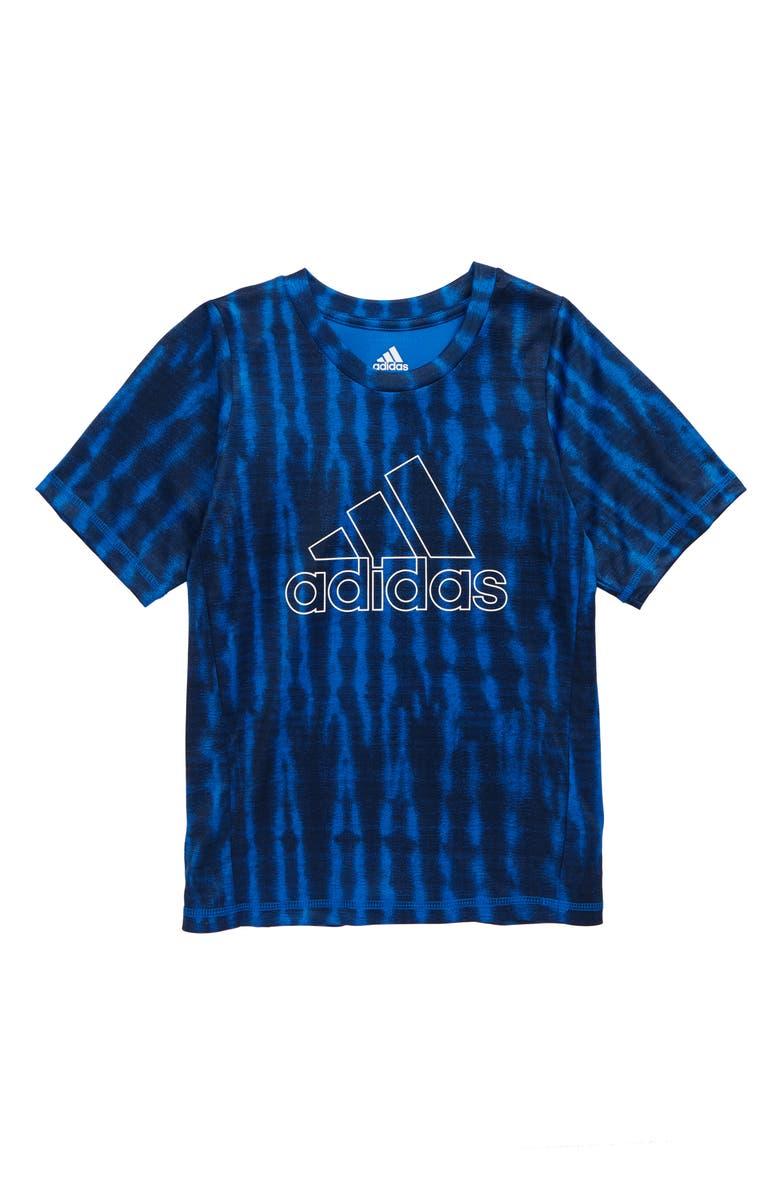 ADIDAS Freelift T-Shirt, Main, color, BLUE