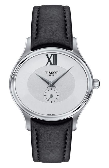 Image of Tissot Bella Ora Leather Strap Watch, 28mm