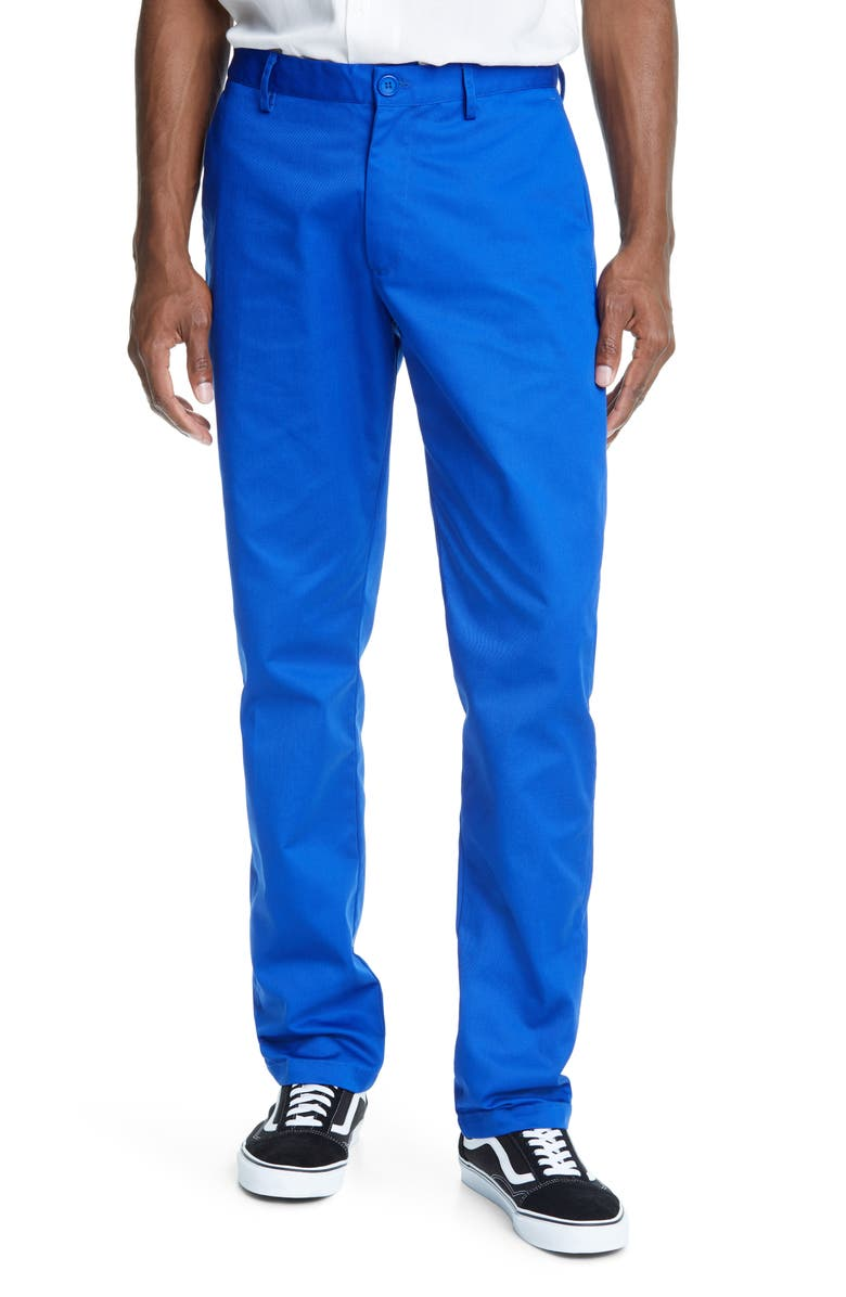 NOON GOONS Industry Lined Chinos, Main, color, BLUE