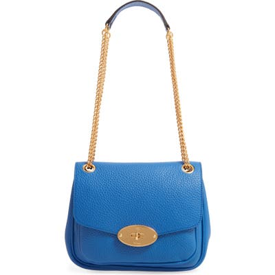 Mulberry Small Darley Leather Convertible Shoulder Bag - Blue