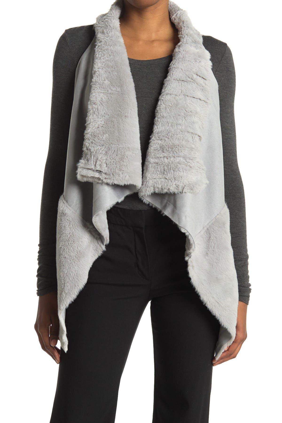 Image of Coffee Shop Faux Fur Vest