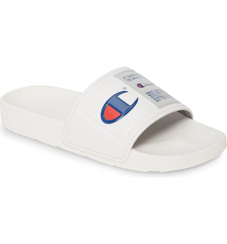 CHAMPION Sport Slide Sandal, Main, color, 100