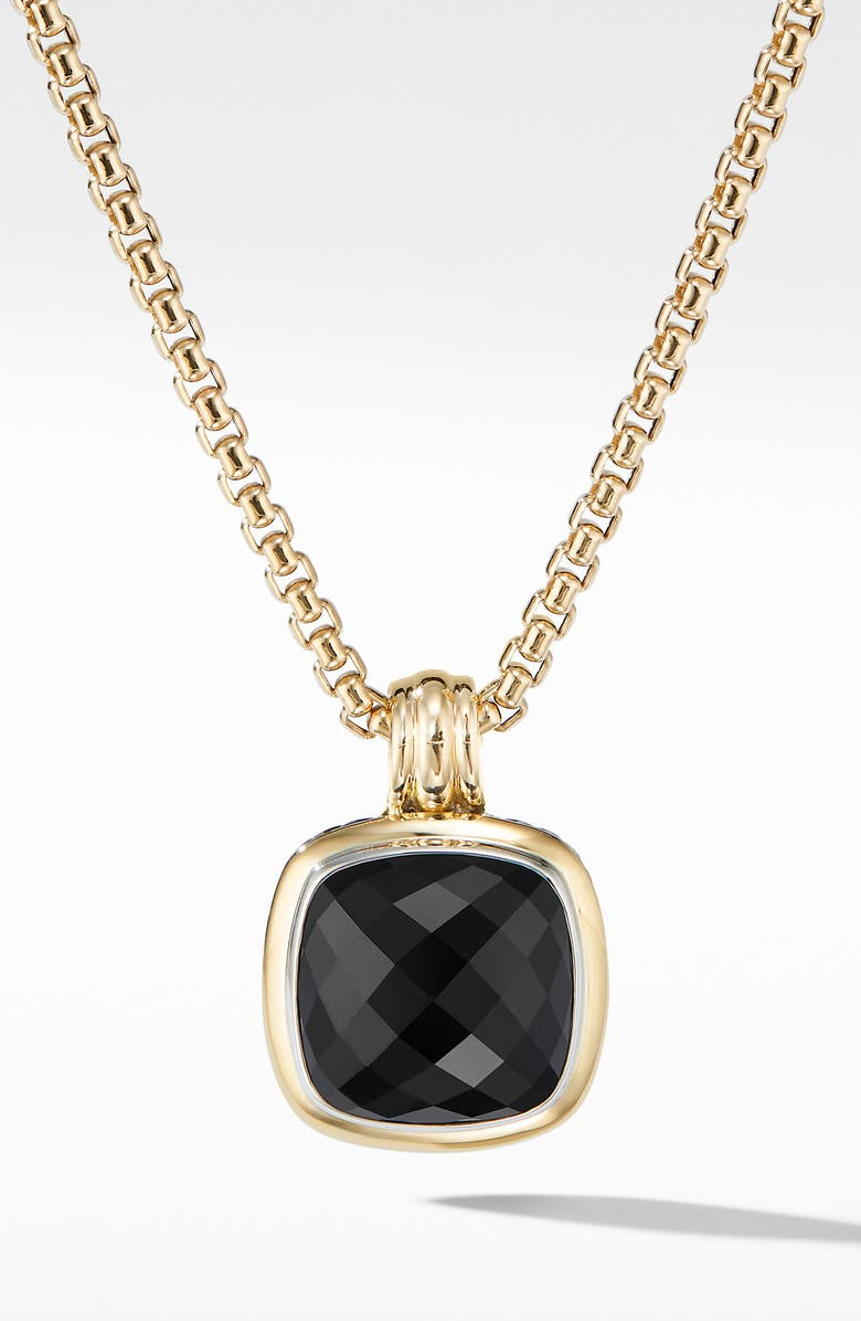 DAVID YURMAN Albion Pendant, Main, color, BLACK ONYX