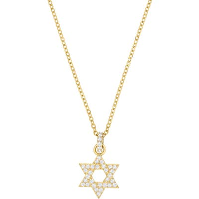 Swarovski Star Of David Pendant Necklace