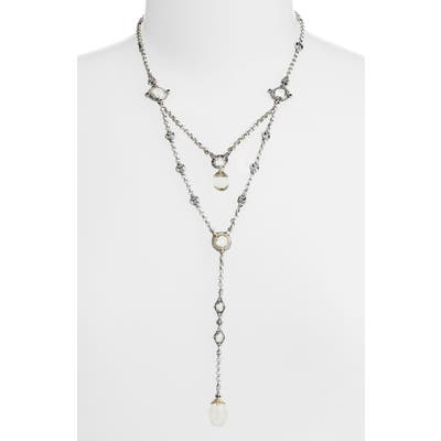 Konstantino Pythia Crystal Y-Necklace
