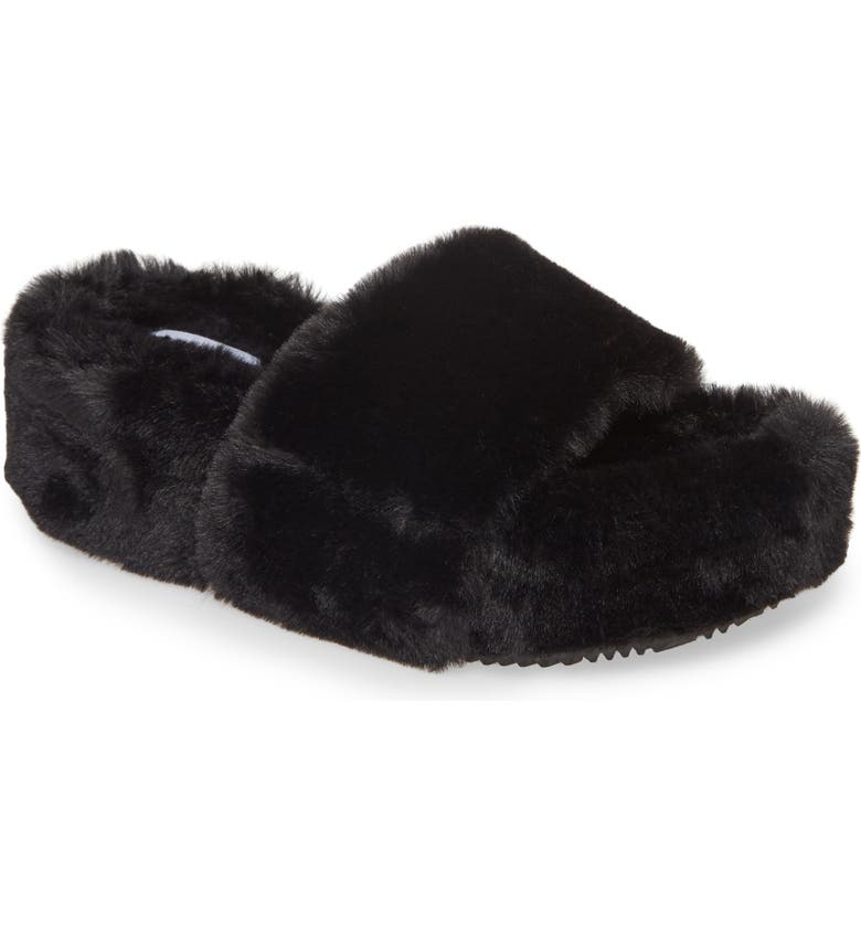 new styles premium selection look out for Steve Madden Fabfuzz Faux Fur Platform Slipper (Women) | Nordstrom