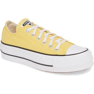 Converse Chuck Taylor All Star Platform Sneaker, Yellow