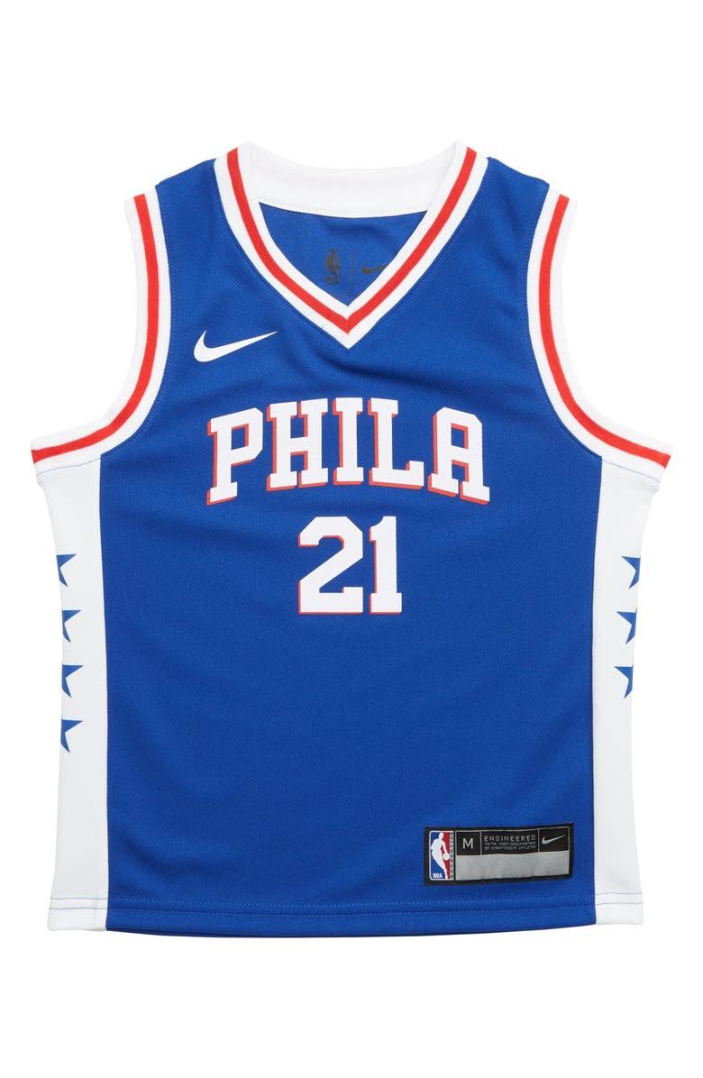 new product 5c281 1c376 Philadelphia '76ers Joel Embiid Basketball Jersey