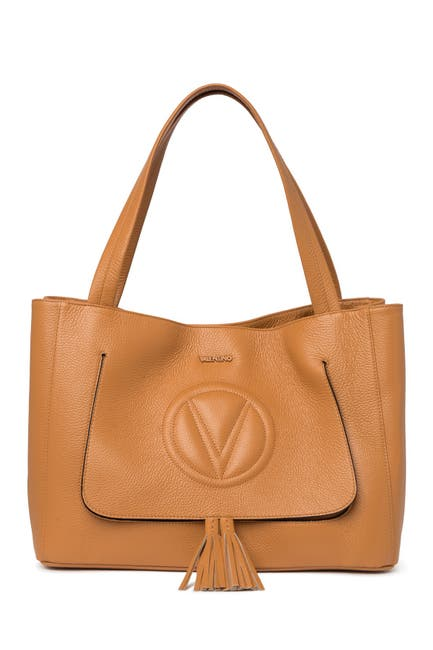 Image of Valentino By Mario Valentino Olli Leather Tote Bag