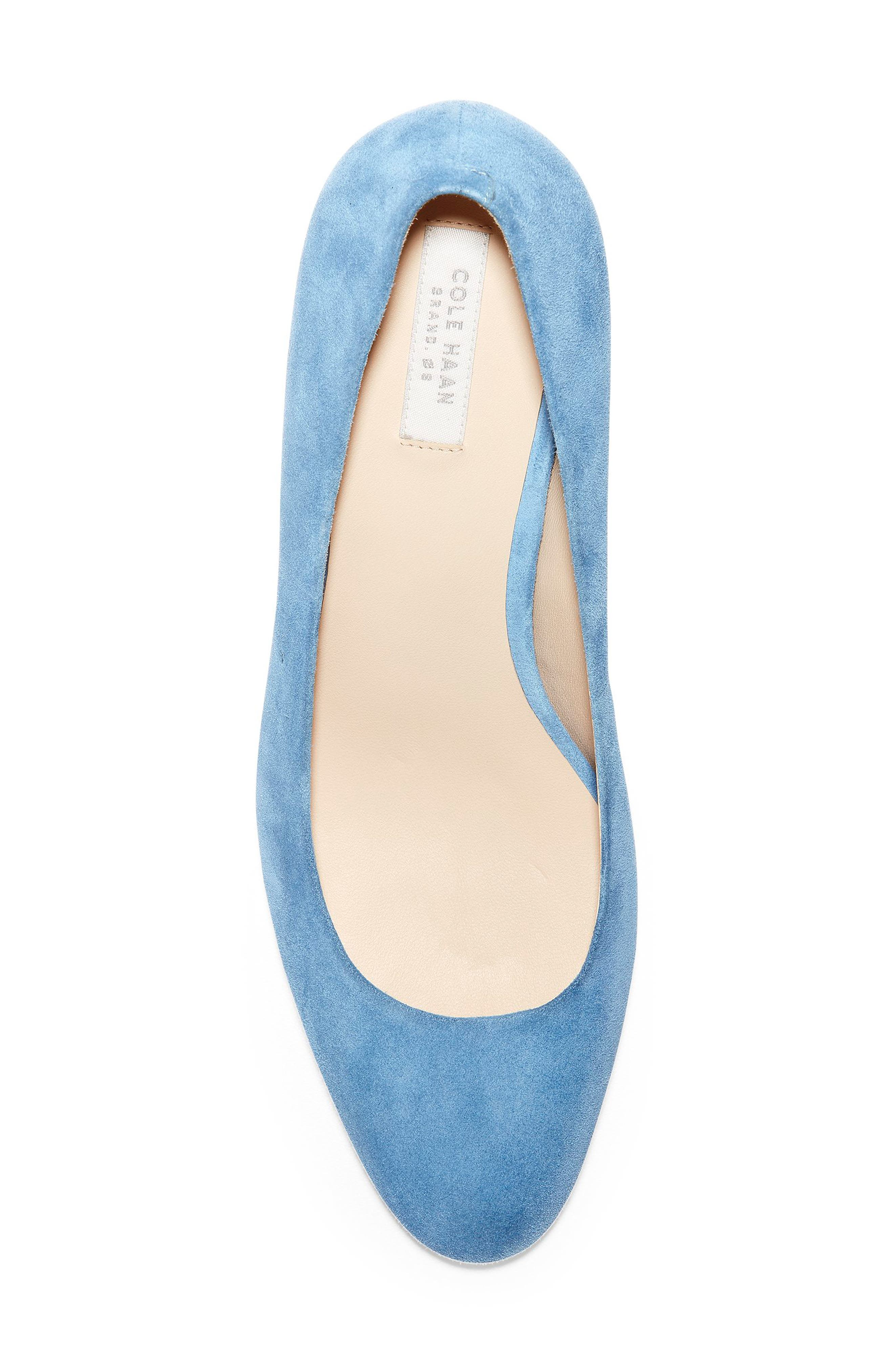 ,                             Ava Pump,                             Alternate thumbnail 5, color,                             PACIFIC COAST SUEDE