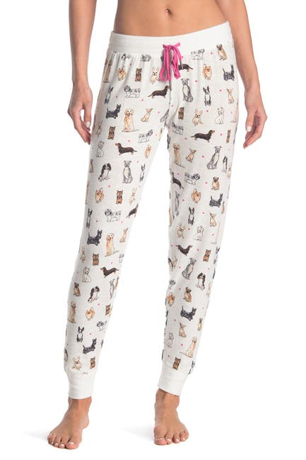 Image of PJ SALVAGE Printed Wild At Heart Joggers