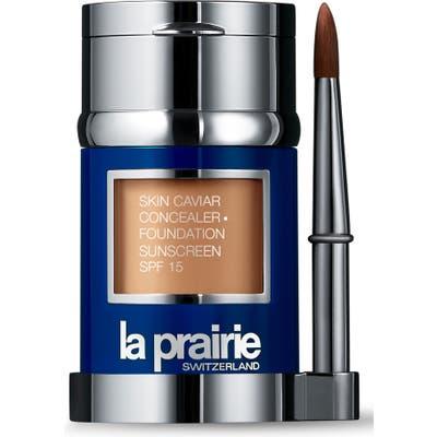 La Prairie Skin Caviar Concealer + Foundation Sunscreen Spf 15 - Warm Beige