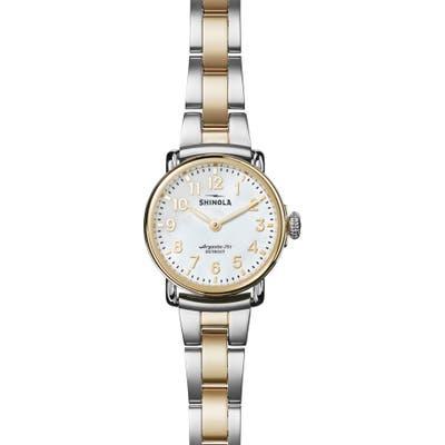 Shinola Runwell Bracelet Watch, 2m
