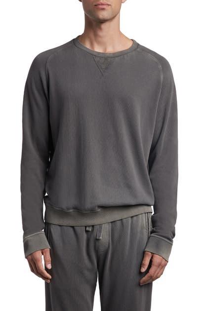 Atm Anthony Thomas Melillo T-shirts FRENCH TERRY CREWNECK SWEATSHIRT