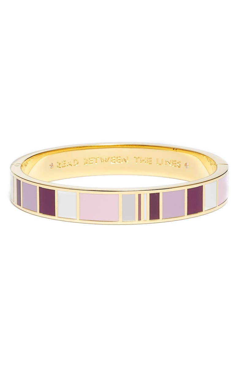 Reading Between Lines In New Yorkers >> Kate Spade New York Idiom Read Between The Lines Bangle Nordstrom