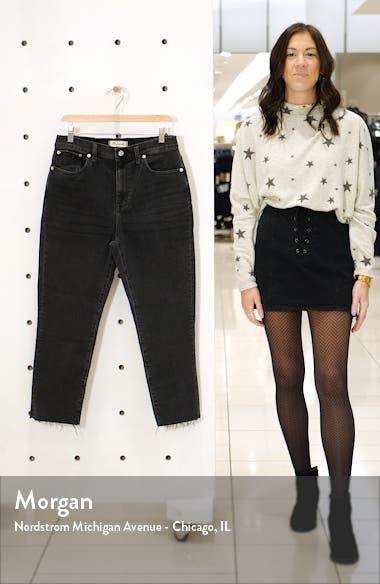 High Waist Slim Crop Boyfriend Jeans, sales video thumbnail