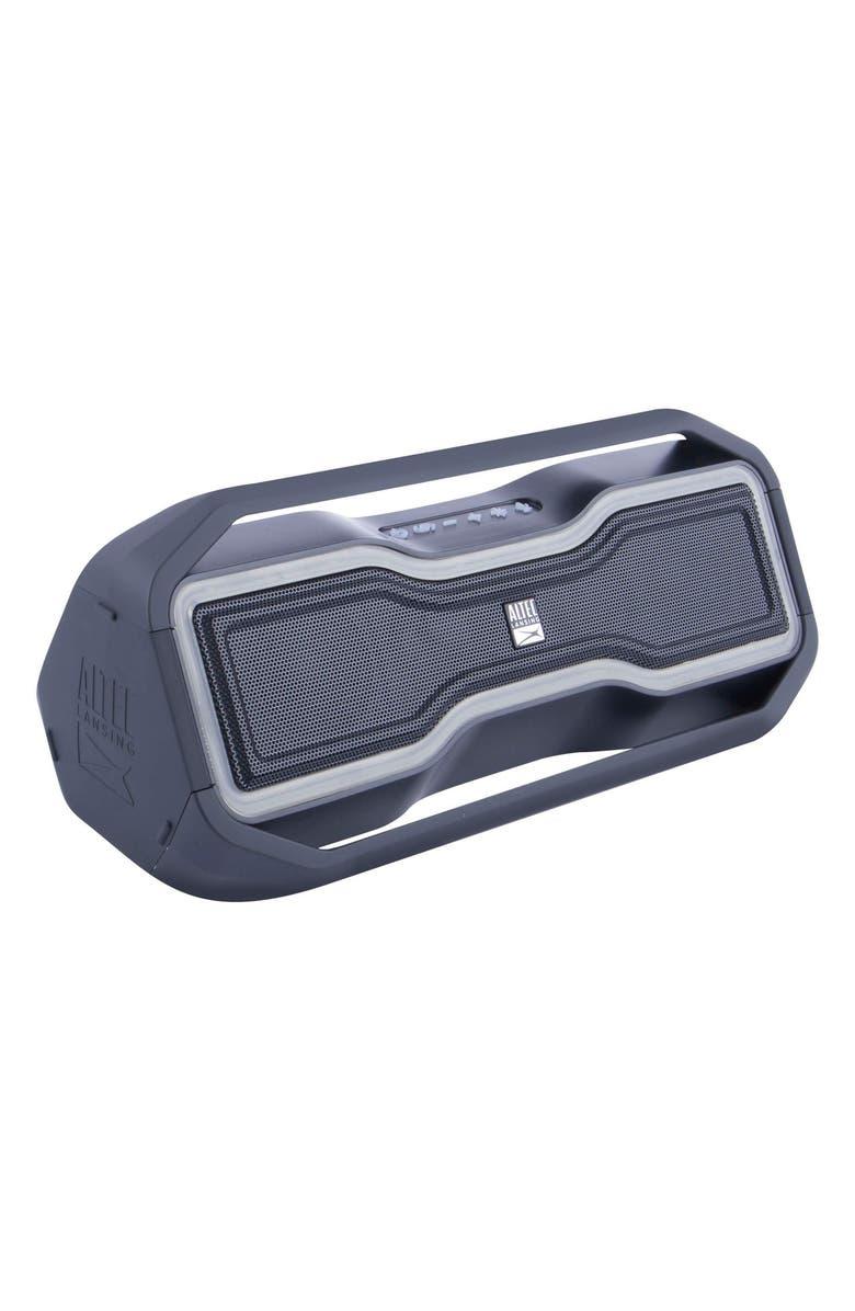 ALTEC LANSING Rock Box Mini Bluetooth<sup>®</sup> Speaker, Main, color, BLACK