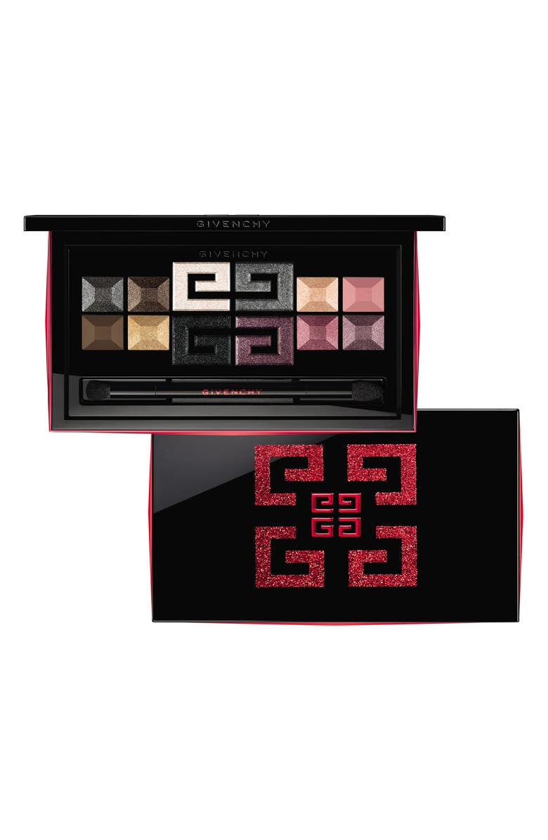 GIVENCHY Red Line Holiday Eyeshadow Palette, Main, color, NO COLOR