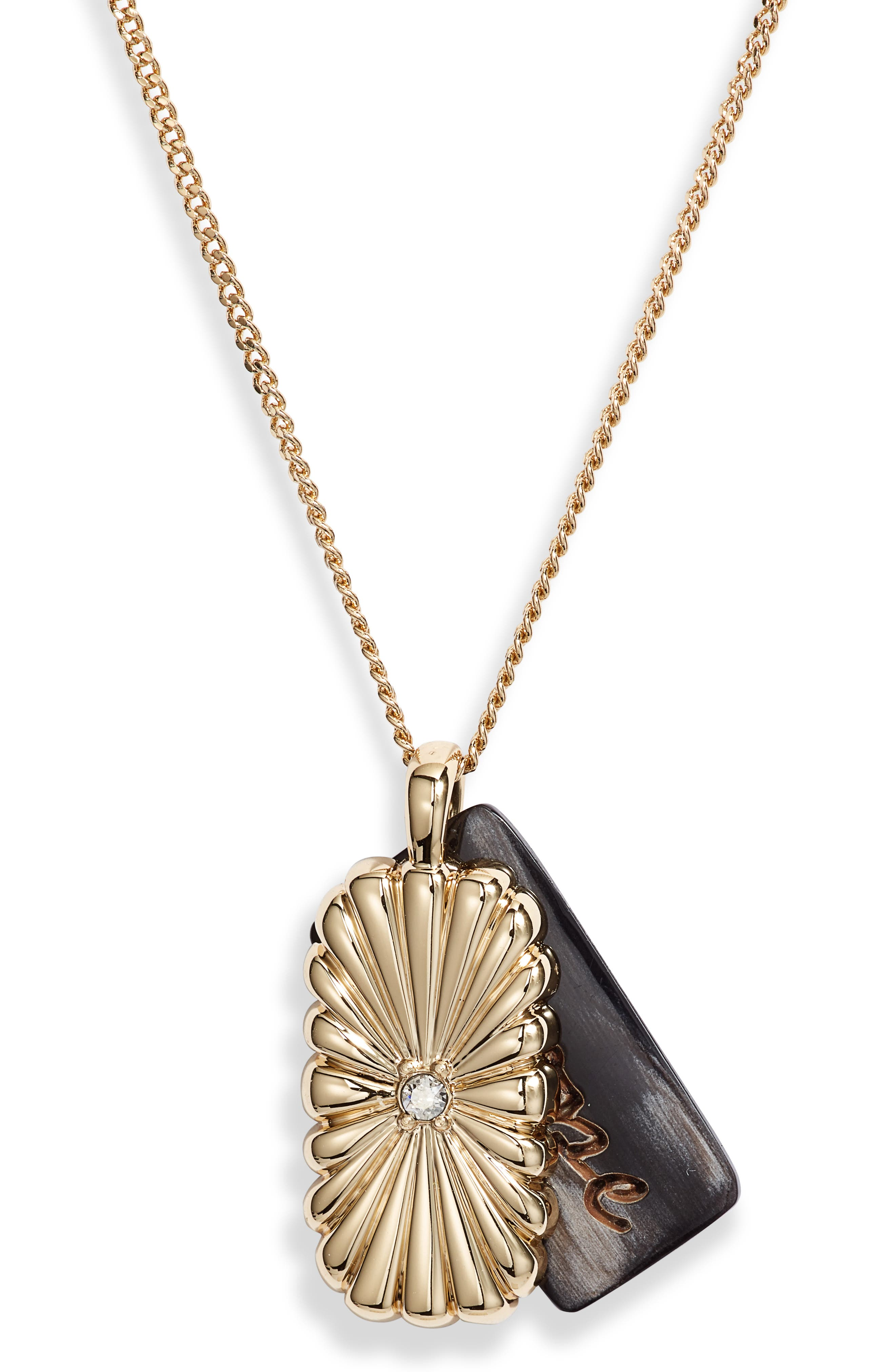Rosen Brave Pendant Necklace