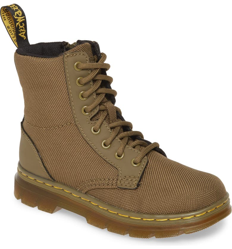 DR. MARTENS Combs Junior Boot, Main, color, OLIVE