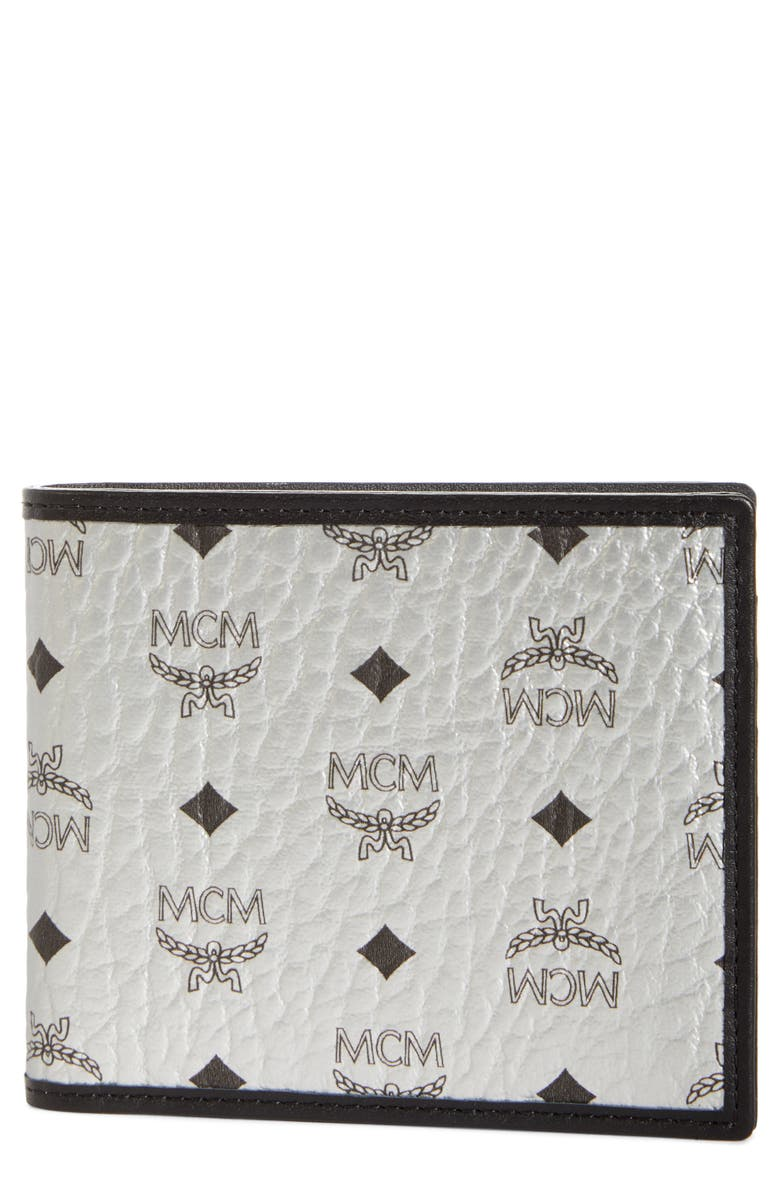 MCM Visetos Wallet, Main, color, BLACK
