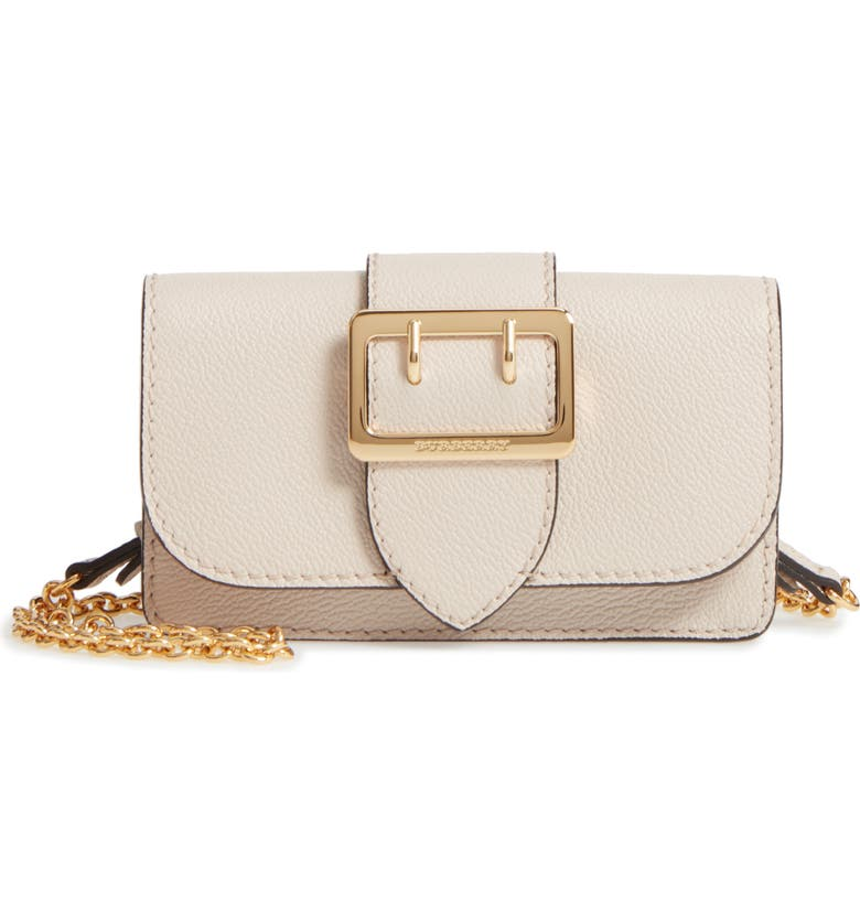 bfb805eb22 Burberry Mini Buckle Leather Bag | Nordstrom
