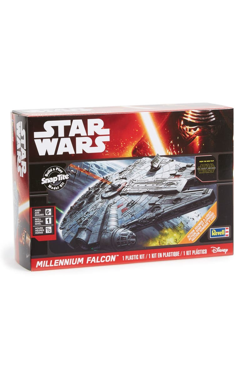REVELL 'Star Wars<sup>™</sup> The Force Awakens - Millennium Falcon<sup>™</sup>' SnapTite<sup>®</sup> Build & Play Model Kit, Main, color, 001