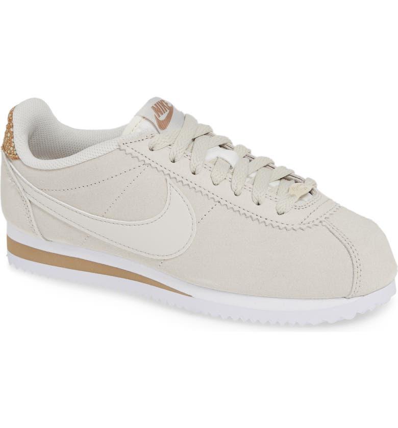 NIKE Classic Cortez Premium Sneaker, Main, color, 250