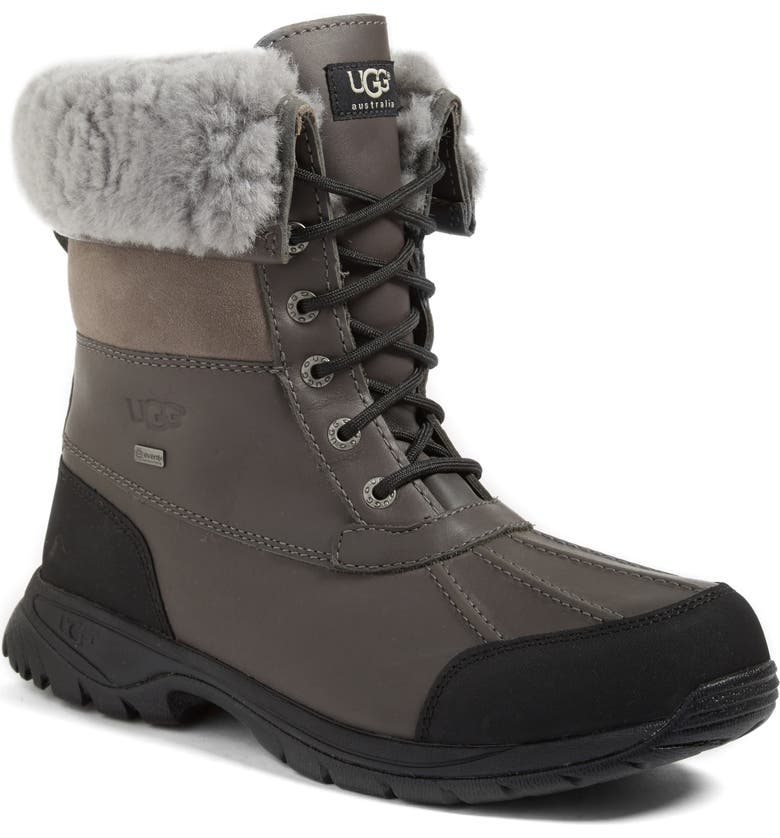 UGG<SUP>®</SUP> Butte Waterproof Boot, Main, color, METAL