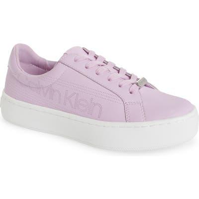 Calvin Klein Clarine Platform Sneaker- Pink