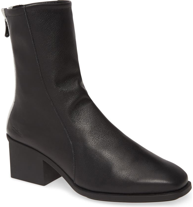 ARCHE Lymata Bootie, Main, color, NOIR/ BLANC LEATHER