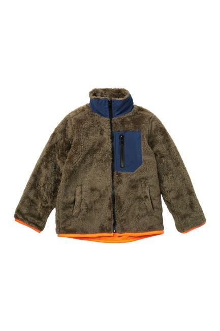 Image of Sovereign Code Himmel Faux Fur Jacket