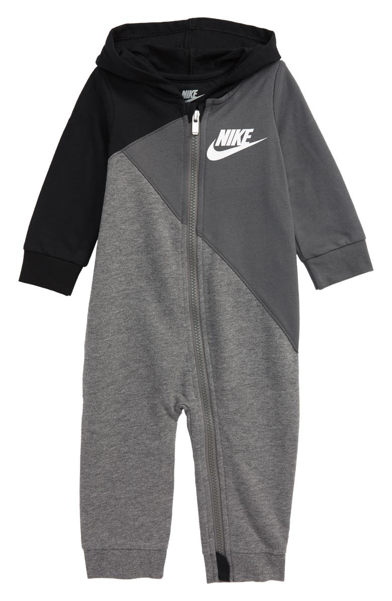 NIKE Amplify Hooded Romper, Main, color, 019