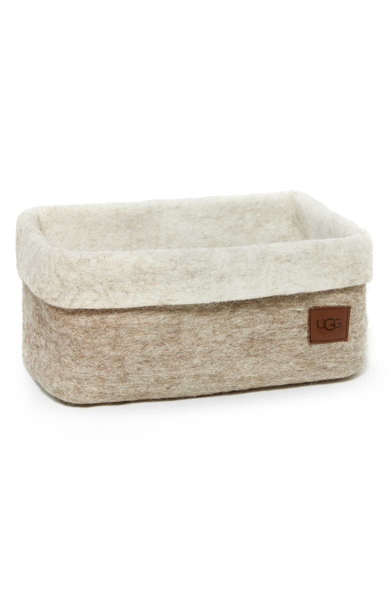 Jade Cove Felted Wool Basket by Ugg®