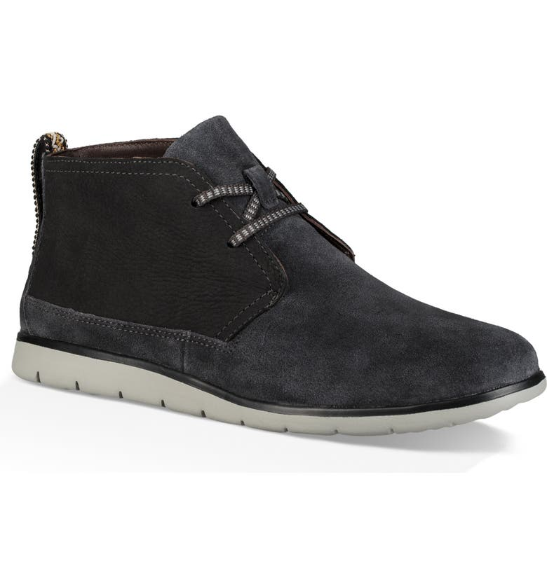 UGG<SUP>®</SUP> Freamon Waterproof Chukka Boot, Main, color, DARK GREY