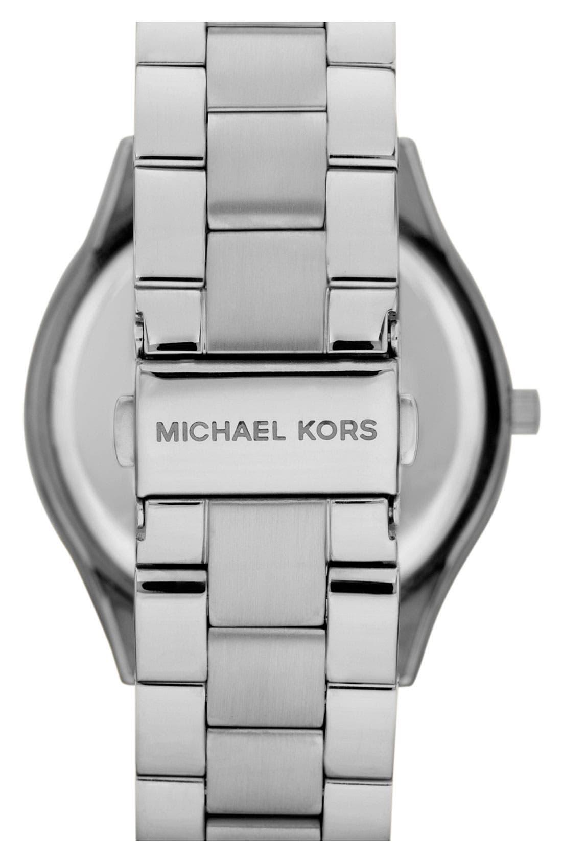 ,                             'Slim Runway' Bracelet Watch, 42mm,                             Alternate thumbnail 16, color,                             040
