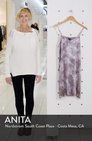 Tie Dye Silk Slipdress, sales video thumbnail