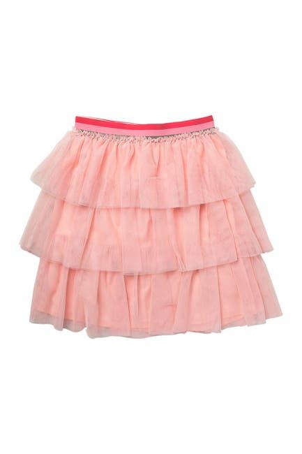 Image of BCBGirls Tiered Mesh Skirt