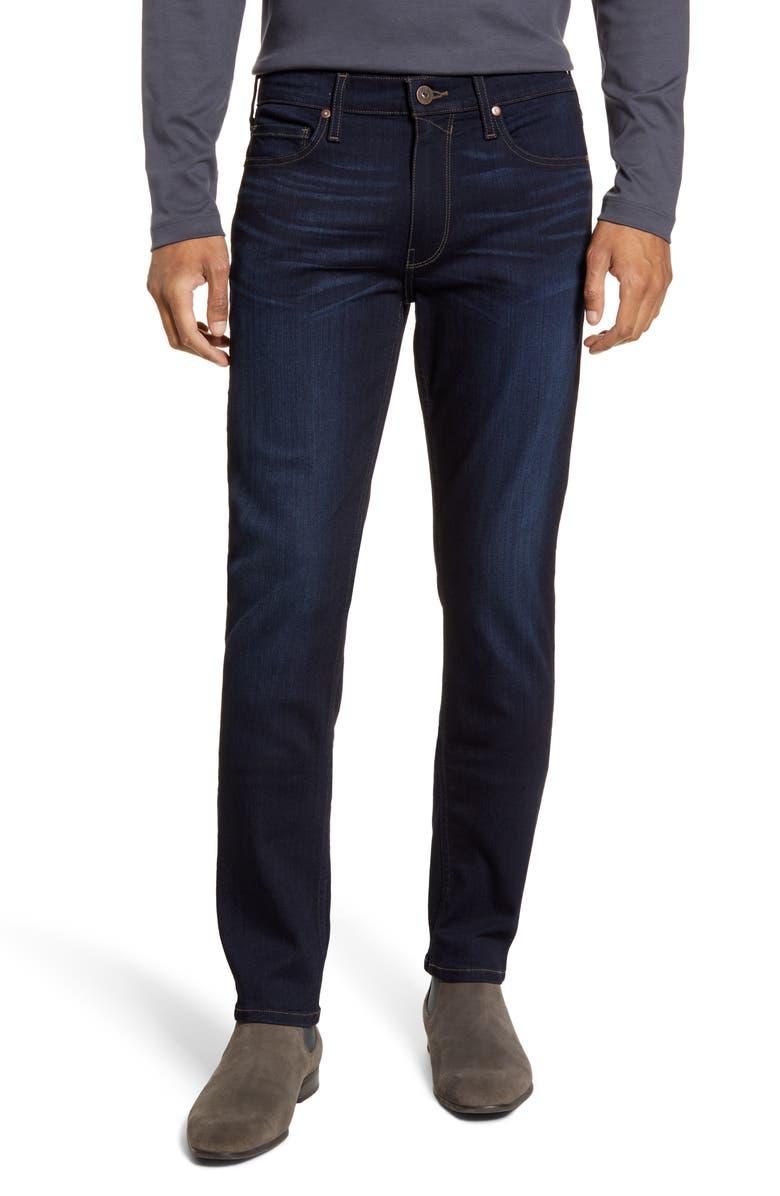 PAIGE Transcend - Lennox Slim Fit Jeans, Main, color, STROUD