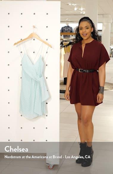 Katie Faux Wrap Minidress, sales video thumbnail