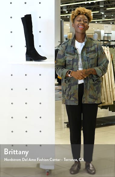 Levon Knee High Boot, sales video thumbnail