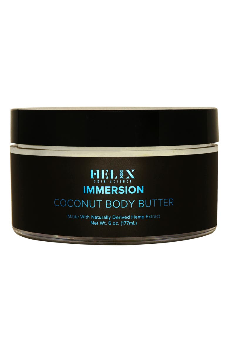 HELIX SKIN SCIENCE Immersion Coconut Body Butter with CBD, Main, color, NO COLOR